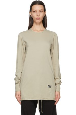 Rick Owens Drkshdw Grey Level Long Sleeve T-Shirt