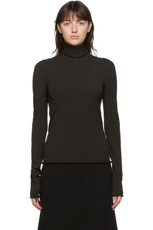 Bottega Veneta Brown Viscose Turtleneck