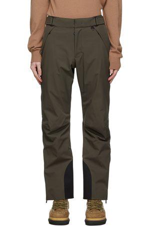 Moncler Grenoble Khaki Ski Trousers
