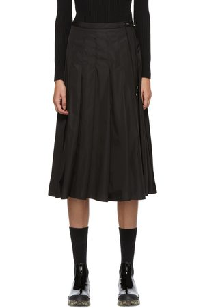 Moncler Technical Pleated Skirt