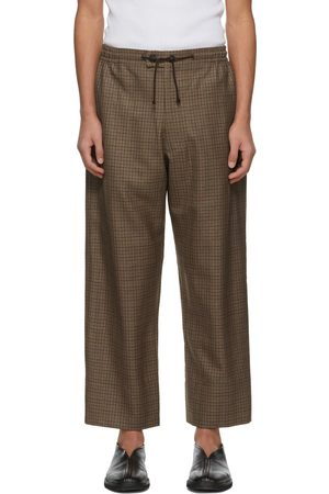 Connor McKnight Wool Check Lounge Pants