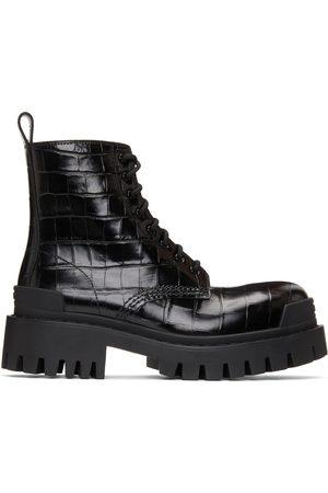 Balenciaga Croc Strike Ankle Boots