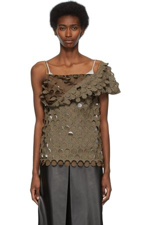 Maison Margiela Wool Cut-Outs Blouse