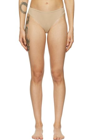 SKIMS Beige Fits Everybody Thong