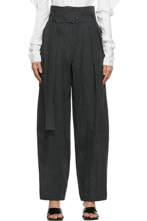 LOW CLASSIC Wide Tuck Trousers