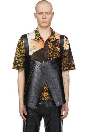 Givenchy Croc Short Cape Vest