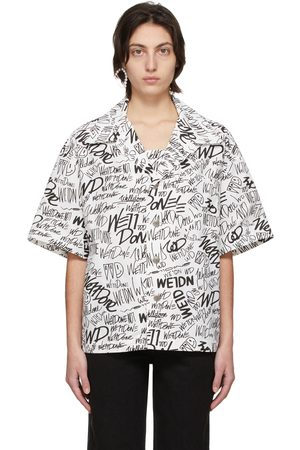 We11done Allover Logo Short Sleeve Shirt