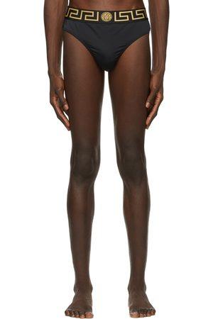 Versace Underwear Greca Border Swim Briefs