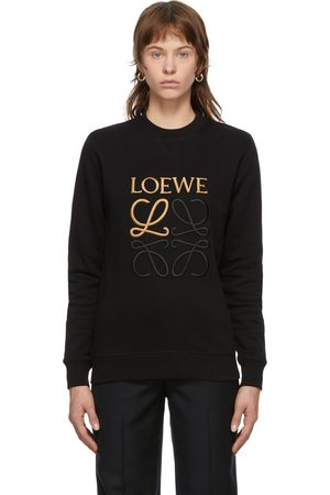 Loewe Embroidered Anagram Sweatshirt
