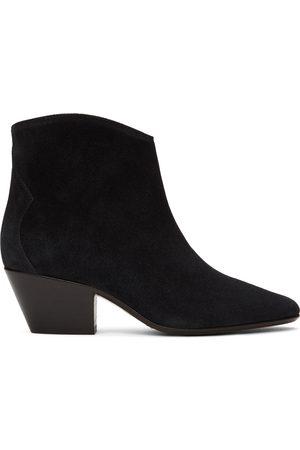 Isabel Marant Black Dacken Ankle Boots