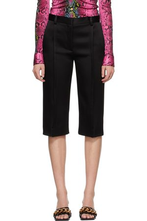 Versace Satin Cropped Trousers