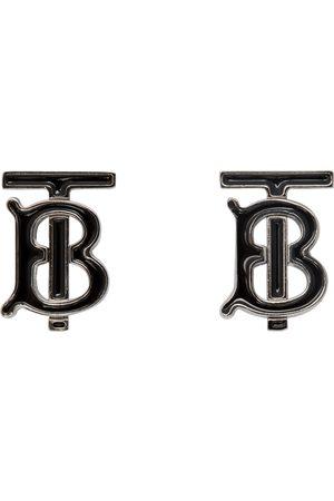 Burberry & Silver TB Cufflinks