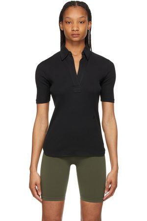 Helmut Lang Retro Ribbed Skinny Polo