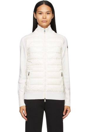 Moncler Down Panelled Zip-Up Jacket