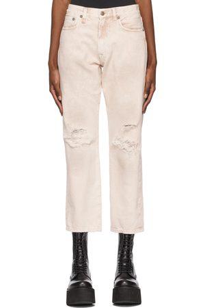 R13 Garment-Dyed Boyfriend Jeans