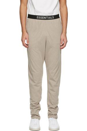 Essentials Tan Jersey Lounge Pants