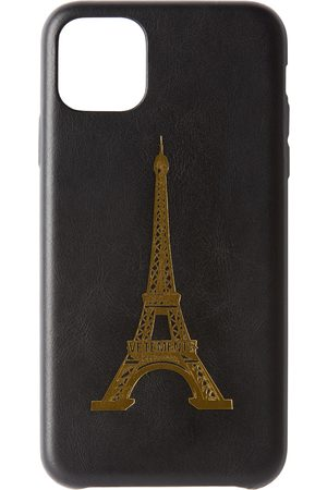 VETEMENTS Black Eiffel Tower iPhone 11 Pro Max Case
