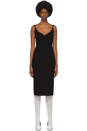 Marc Jacobs Wool & Silk Double Face Mid-Length Dress