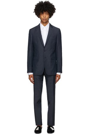 Burberry Check Slim Suit