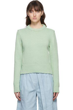 Tibi Yarn Shrunken Sweater