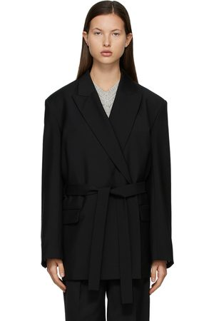 Acne Studios Double-Breasted Belted Blazer