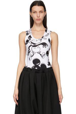 Comme des Garçons White & Black Disney Edition Mickey Mouse Bodysuit