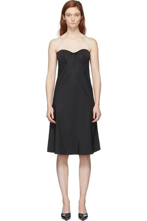Coperni Contrast Connection Slip Dress