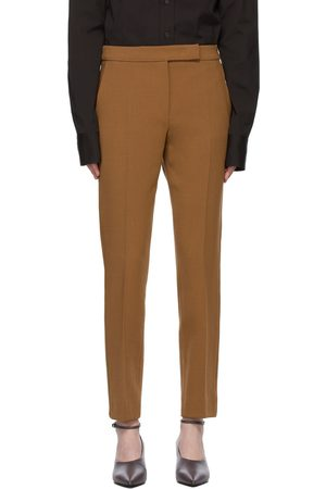 Max Mara Tan Wool Micenea Trousers