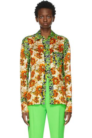 Kwaidan Editions Multicolor Floral Print Shirt