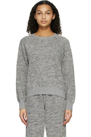 John Elliott Grey Cotton-Mix Sweatshirt