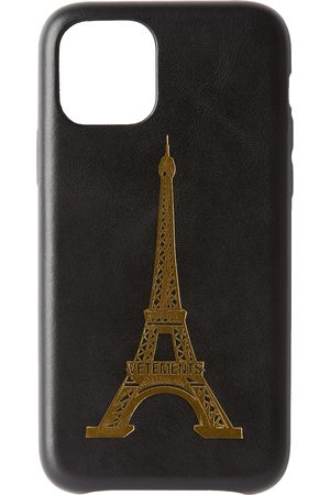 VETEMENTS Black Eiffel Tower iPhone 11 Pro Case