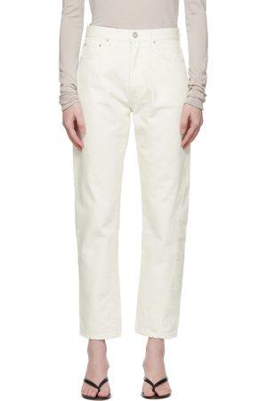 Totême Off-White Twisted Seam Jeans