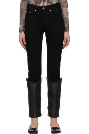 MM6 Maison Margiela Boot Bottom Jeans