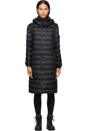 Moncler Down Algores Belted Long Coat