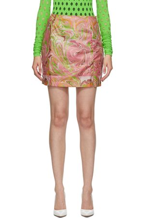 Maisie Wilen SSENSE Exclusive Call Me Mini Skirt