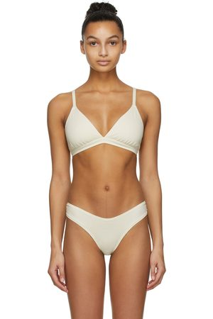 SKIMS Off- Cotton Triangle Bralette