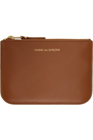 Comme des Garçons Wallets Small Ruby Eyes Zip Card Holder
