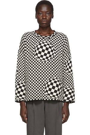 Off-White & Off-White Checked Sweater