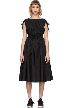 Moncler Poplin Drawstring Dress