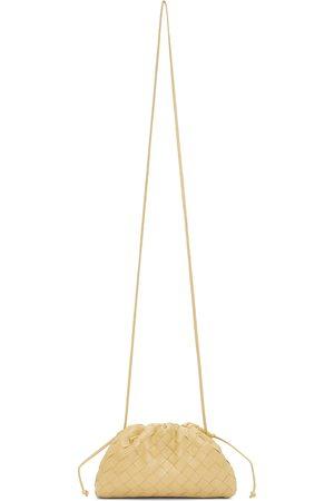 Bottega Veneta Taupe Intrecciato 'The Mini Pouch' Clutch