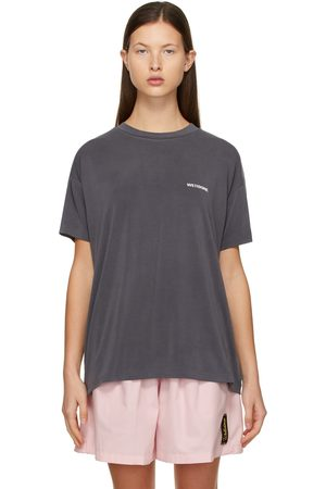 We11done Jersey Oversized T-Shirt