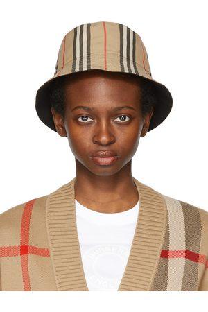 Burberry Reversible Icon Stripe Bucket Hat