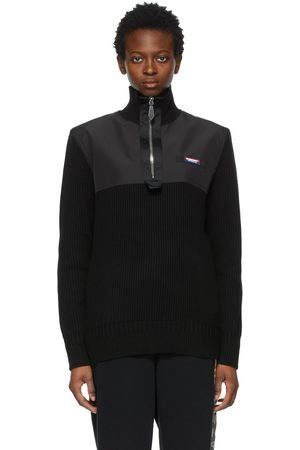 Burberry Cashmere Bidden Zip Turtleneck