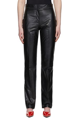 Acne Studios Pressed Leather Trousers