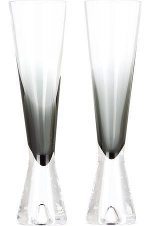 Tom Dixon Black Tank Champagne Glass Set
