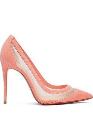 Christian Louboutin Pink Galativi 100 Heels