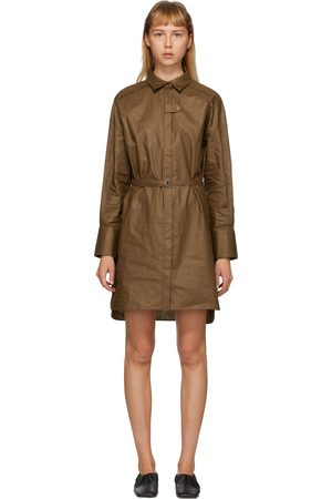 Partow Coated Linen Helena Shirt Dress