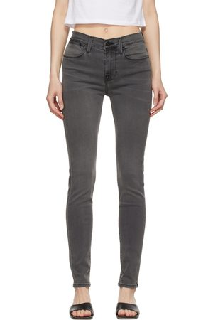 Frame Grey 'Le High Skinny' Jeans