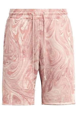 Joe's Jeans Men Neckties - Marble Tie-Dye Fleece Shorts