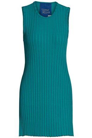 SIMON MILLER Aukai Rib-Knit Sleeveless Tunic